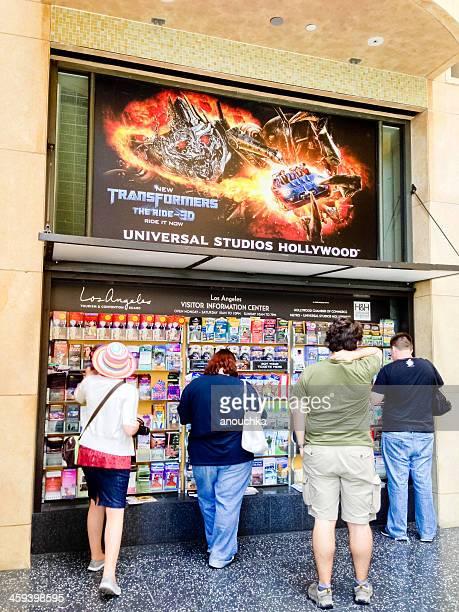 Turistas Verificar informações sobre o Universal Studios em Hollywo