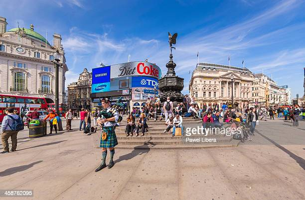 Tourists in Piccadilly Circus