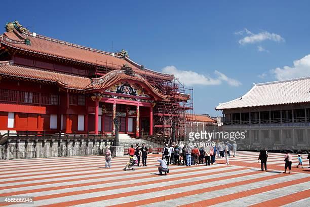 観光客で Shurijo 城