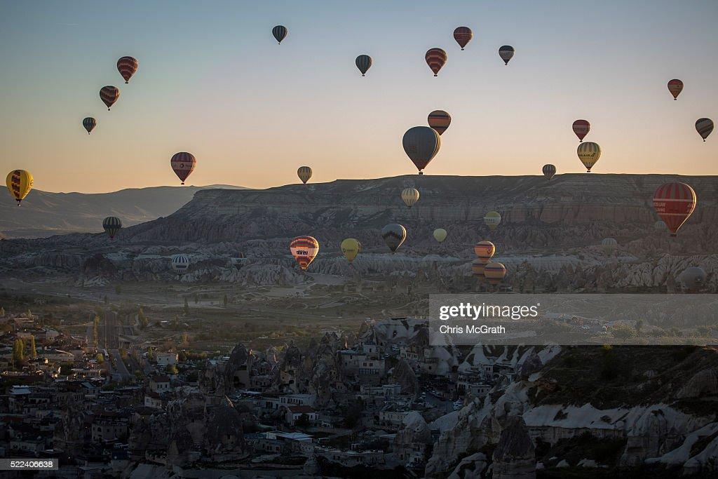 Cappadocia Region Hot Air Balloon Rides