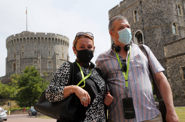 GBR: Royal Residency Reopening - Windsor Castle