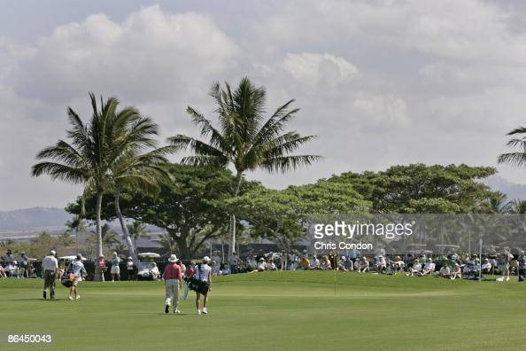 A tournament scenic during the second round of the 2006 Mastercard Championship at Hualalai resort Kona Hawaii January 212006