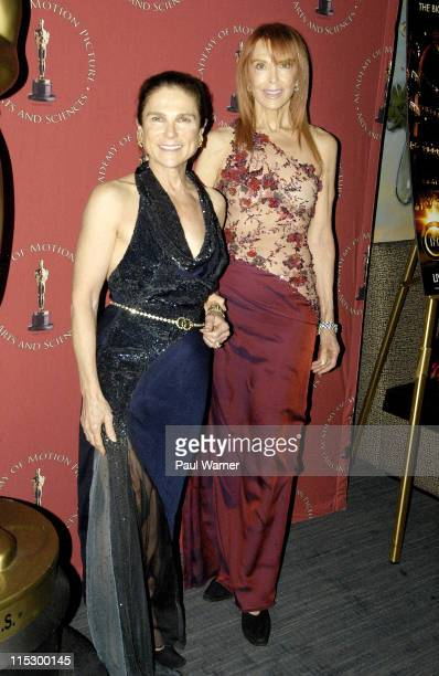 Tovah Feldshuh and Tina Louise attend the Academy of Motion Picture Arts Sciences' Official New York Oscar Night Party at The Carlyle on February 22...