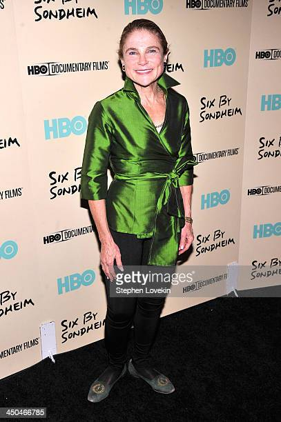 Tovah Feldshuh attends HBO's New York Premiere of 'Six by Sondheim' at Museum of Modern Art on November 18 2013 in New York City