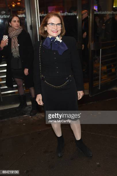 Tovah Feldshuh attends the Arthur Miller's 'The Price' Broadway Opening Night at American Airlines Theatre on March 16 2017 in New York City