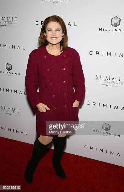 Tovah Feldshuh attends the New York Premiere of 'CRIMINAL' at AMC Loews Lincoln Square 13 theater on April 11 2016 in New York City