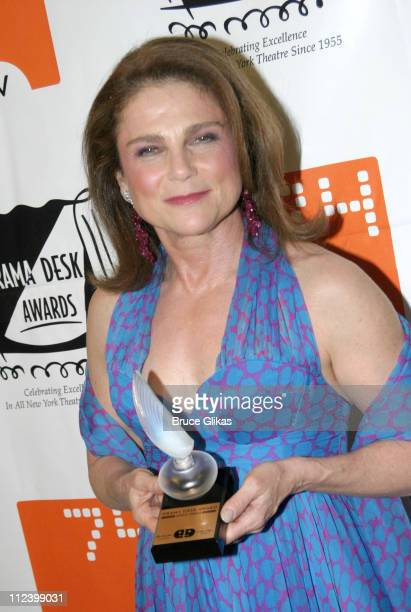 Tovah Feldshuh during The 2004 Drama Desk Awards at Fiorello H LaGuardia High School of Music Performing Arts in New York NY United States