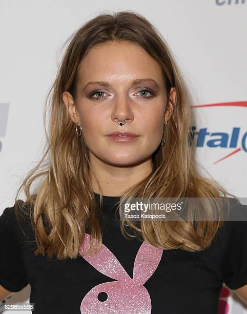 Tove Lo attends 1035 KISS FM's Jingle Ball 2016 at Allstate Arena on December 14 2016 in Rosemont Illinois