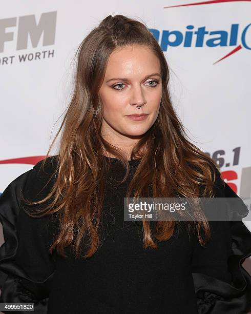 Tove Lo attends 1061 KISS FM's 2015 Jingle Ball at American Airlines Center on December 1 2015 in Dallas Texas