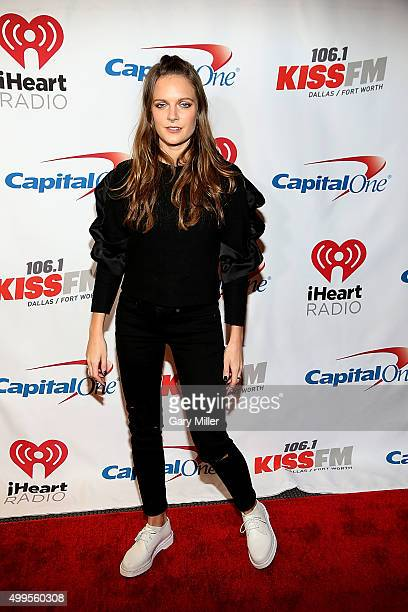 Tove Lo attends the iHeart Radio 1061 KISS FM Jingle Ball at the American Airlines Center on December 1 2015 in Dallas Texas
