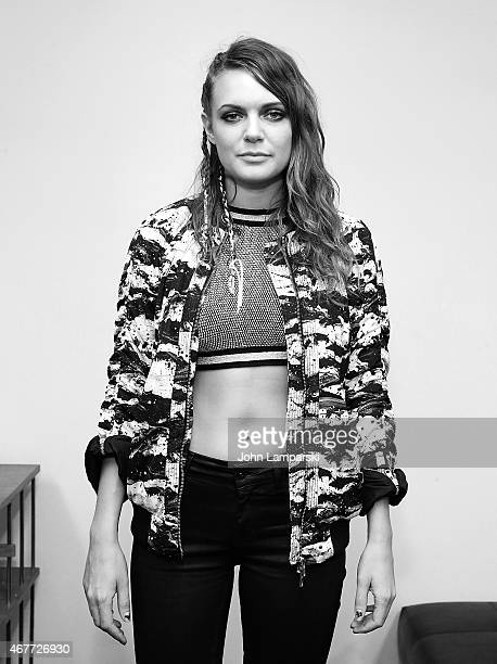 Tove Lo attends the Tove Lo Special Performance at Banana Republic Flatiron Flagship Store on March 26 2015 in New York City