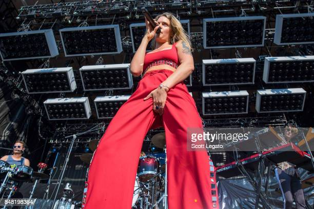 Tove Lo performs during Day 1 of Music Midtown at Piedmont Park on September 16 2017 in Atlanta Georgia