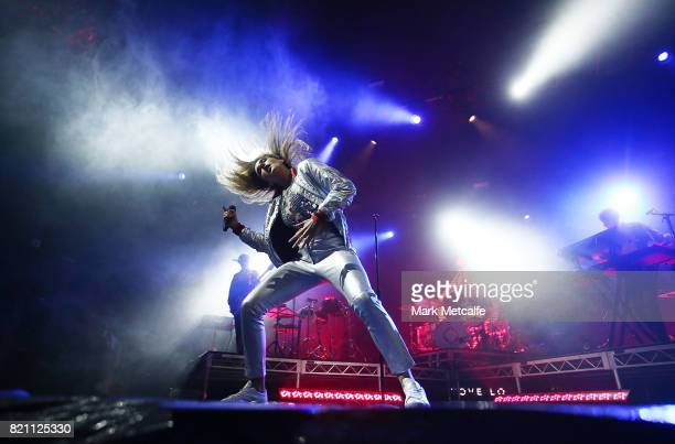 Tove Lo performs during Splendour in the Grass 2017 on July 23 2017 in Byron Bay Australia