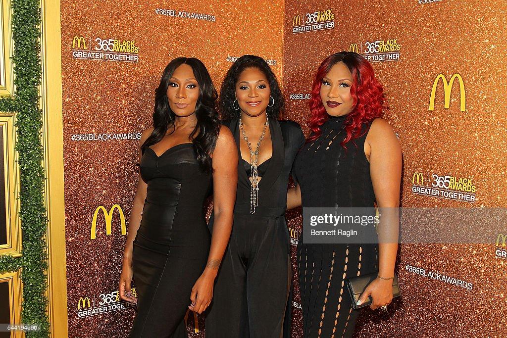 Towada Braxton Trina Braxton Traci Braxton attend the 13th Annual McDonald's 365Black Awards on July 1 2016 in New Orleans Louisiana