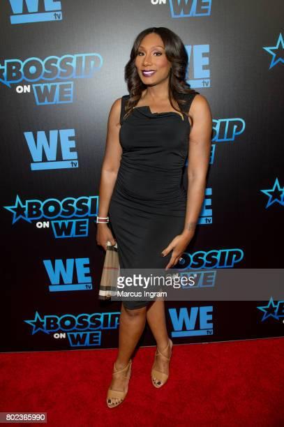 Towanda Braxton attends 'Bossip On WE' Atlanta launch celebration at Elevate at W Atlanta Midtown on June 27 2017 in Atlanta Georgia