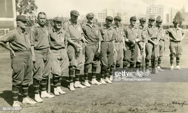 Towards the end of their tour of South Africa in 1936 the Australian cricket team agreed to play a baseball match against the Transvaal baseball team...