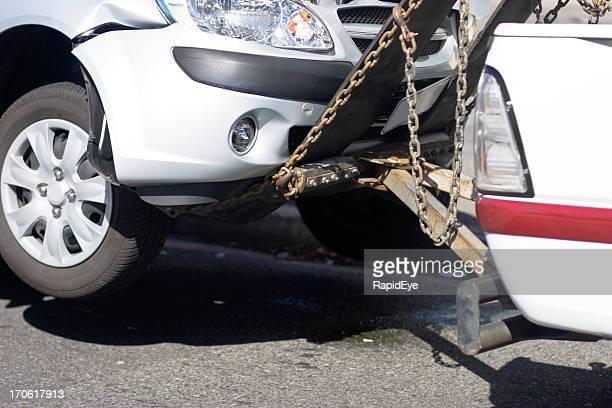 Das Auto entfernt