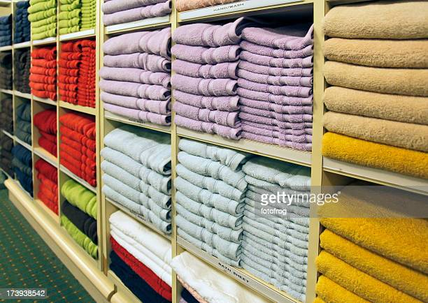 Towels in store