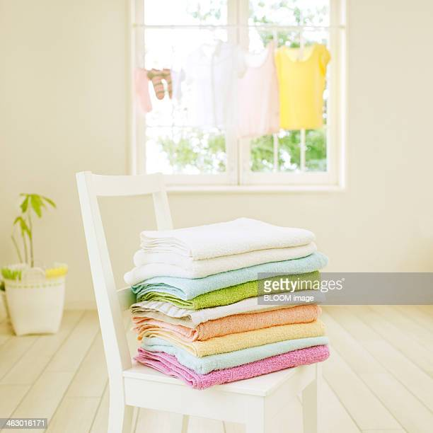 Towels On Chair
