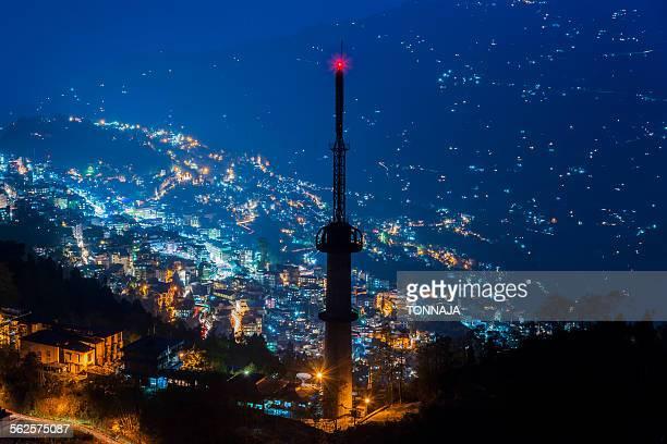 TV tower at Gangtok, Sikkim, India