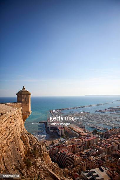 Tower at surrounding walls, Spain