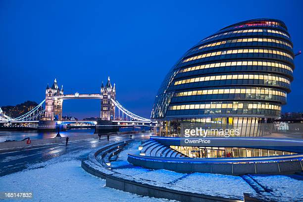 Tower Bridge and City Hall London
