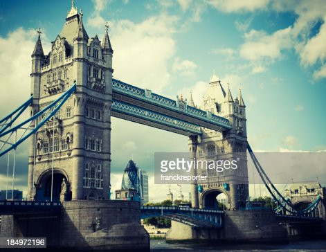 Tower Bridge and river thames