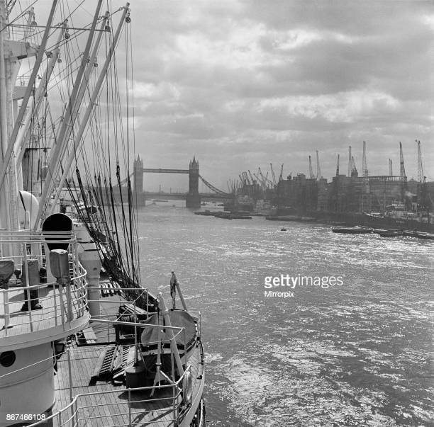 Tower Bridge London 20th May 1954