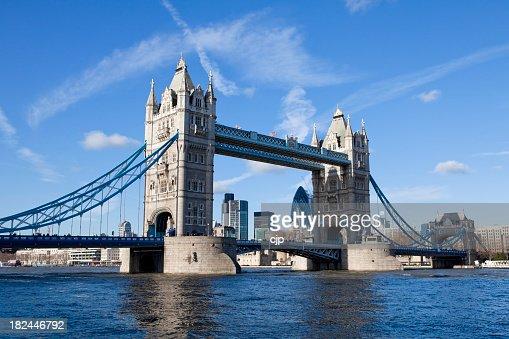 Tower Bridge over River Thames, London UK XXXL
