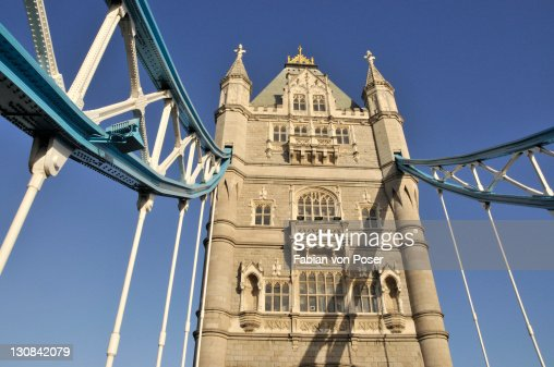 Tower Bridge over the River Thames, London, England, UK, Europe