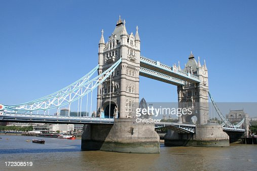 Tower Bridge over the River Thames London