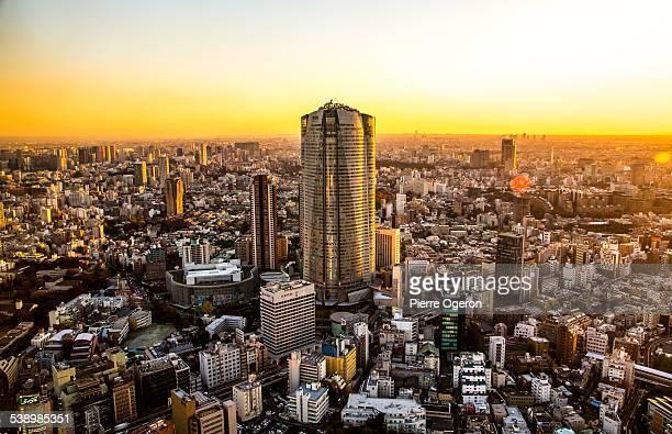 Tower cityscape, Roppongi Hills Mori Tower