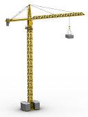 Tower crane (3D)