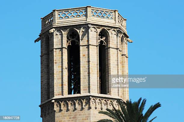 Tower in the historic Gotico area
