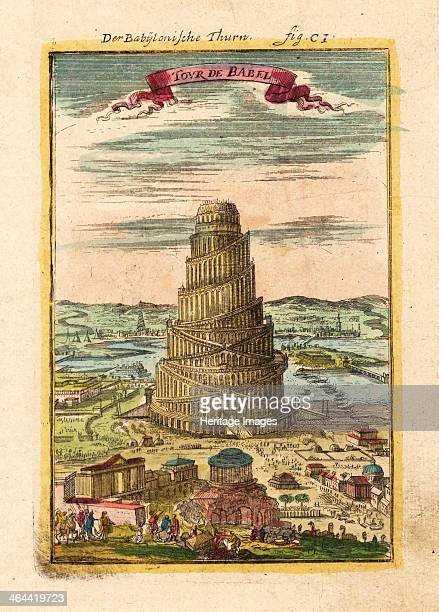 Tower of Babel 1719 From a private collection