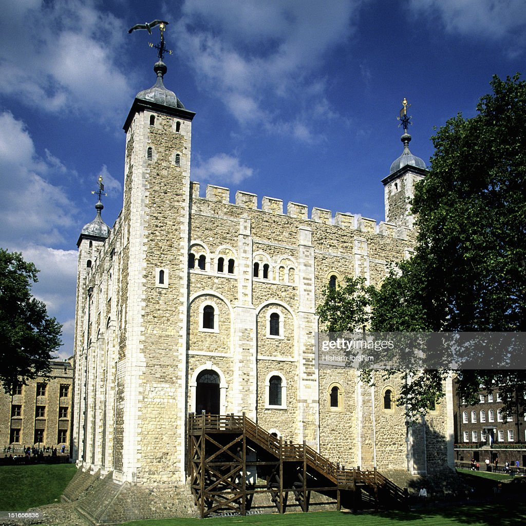 Tower of London, The White Tower, London, UK : Stock Photo