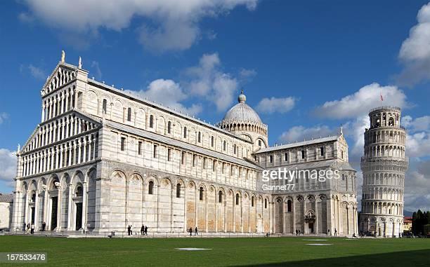 Turm von Pisa und die Kathedrale, Italien
