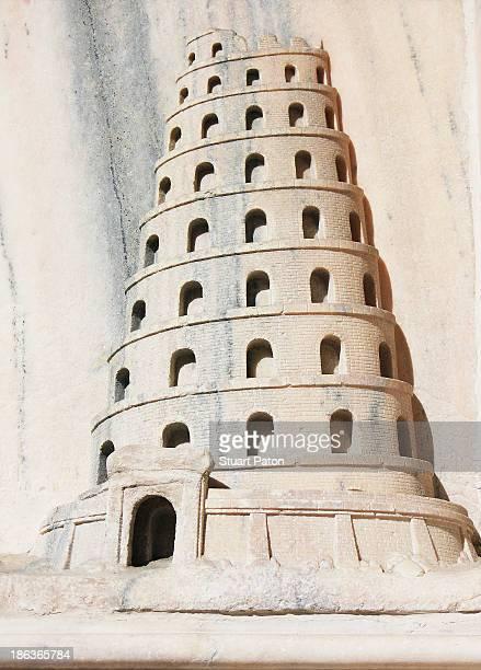 Tower on Duomo, Milan cathedral