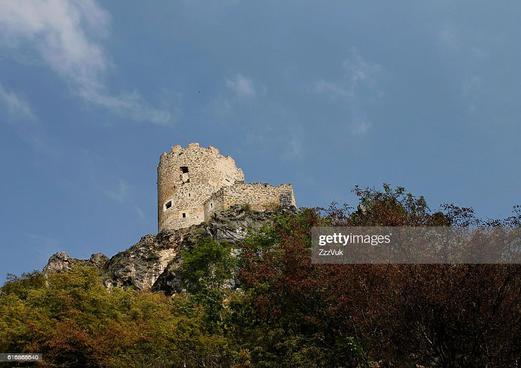 Tower on top of the hill : Stock Photo