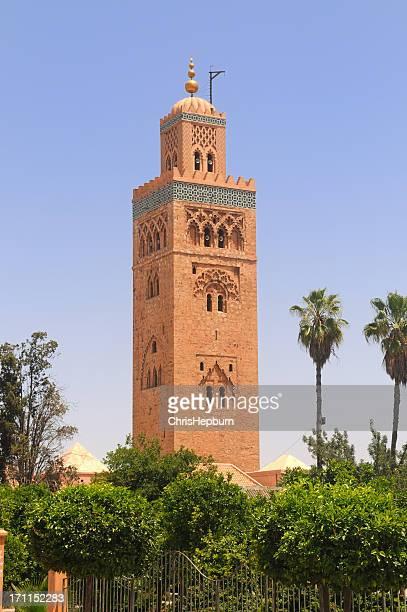 Tower or minaret, Koutoubia Mosque, Marrakesh