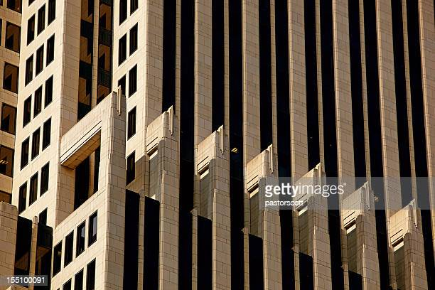 NBC Tower Spandrels in Chicago, Close Up at 200mm