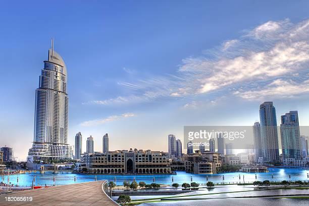 towers cityscape - Dubai HDR