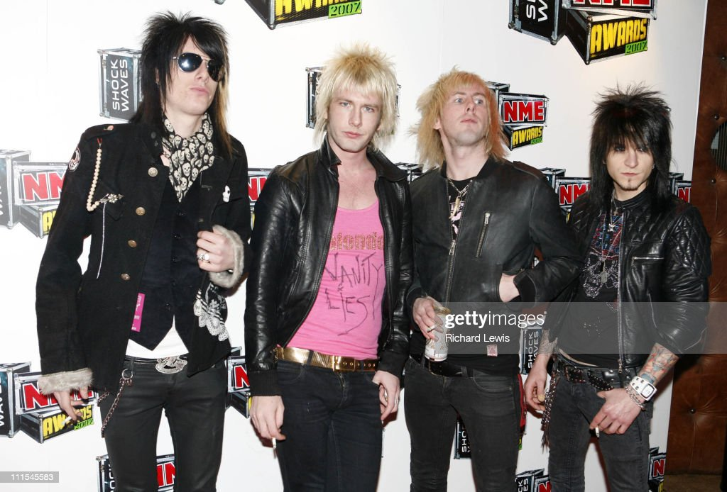 Towers of London arrive at the Shockwaves NME Awards 2007