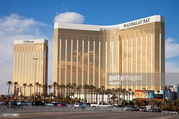 Towers of Mandalay Bay luxury resort in Las Vegas