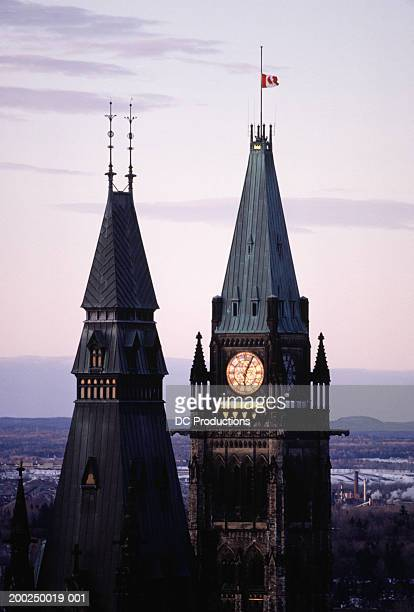 Towers of Parliament, Ottawa, Canada