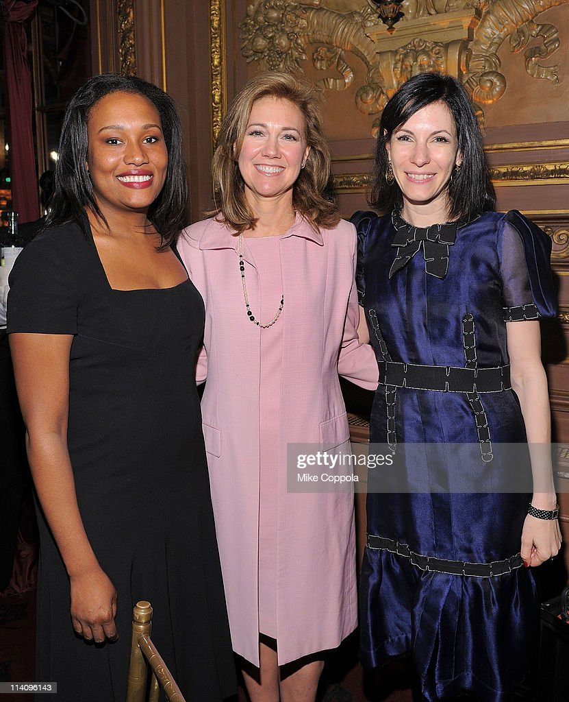 Town Country magazine editor Alexis Clark philanthropist Silda Wall Spitzer and author Jill Kargman attend City Harvest's 7th Annual On Your Plate...