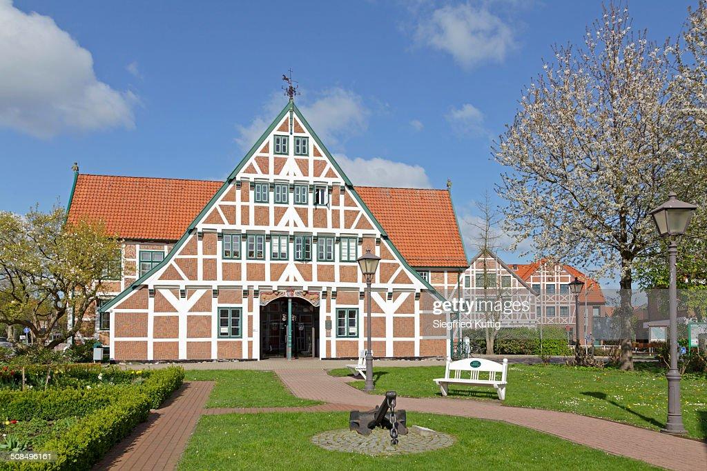 Town Hall, Jork, Altes Land region, Lower Saxony, Germany