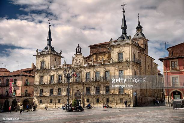 Town Hall of Leon city, Spain