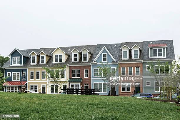 Town Homes at Chelsea Heights on May 21 2015 in Silver Spring Maryland