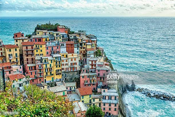 Town Manarola, Cinque Terre, Liguria, Italy
